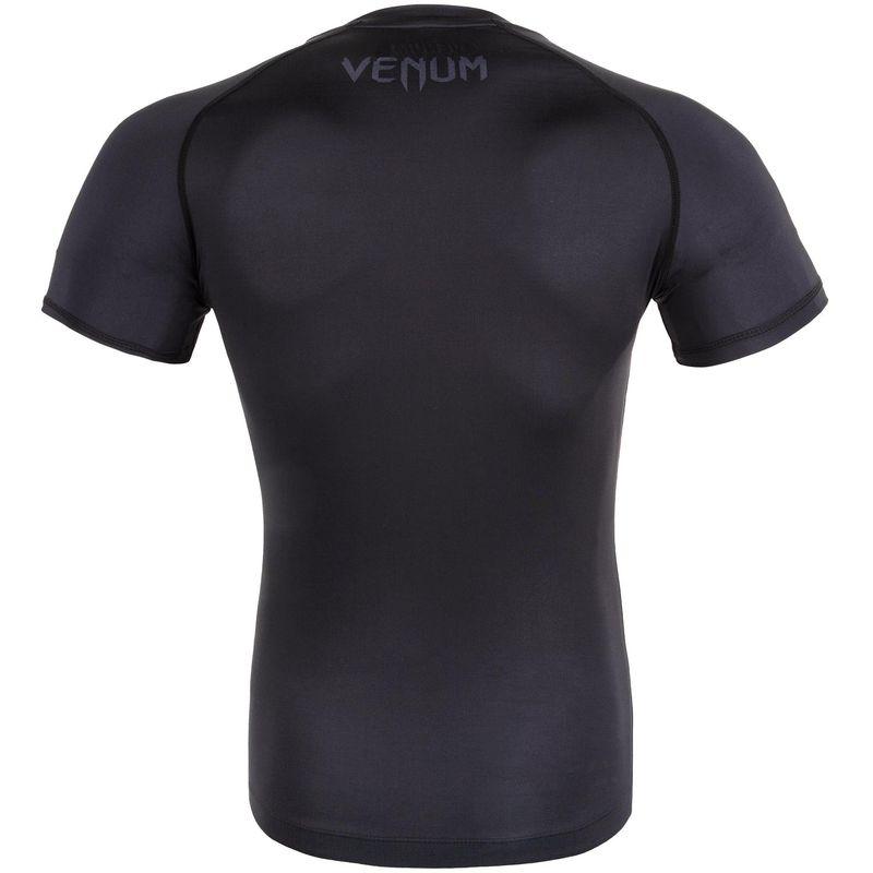 Venum Contender 3.0 Kompression T-Shirt -  schwarz/grau - Kurzarm – Bild 3