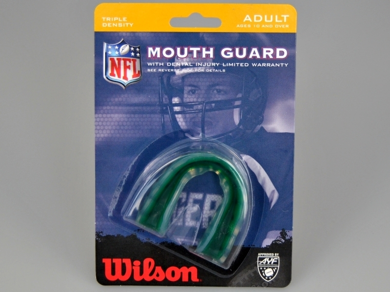 Shield Wilson MG3 Three-stage Mouthguard for Adults Mint Green