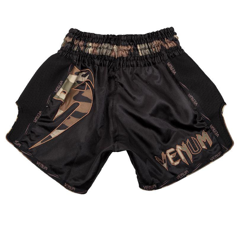 Venum Giant Muay Thai Shorts - black/camo green – Bild 2
