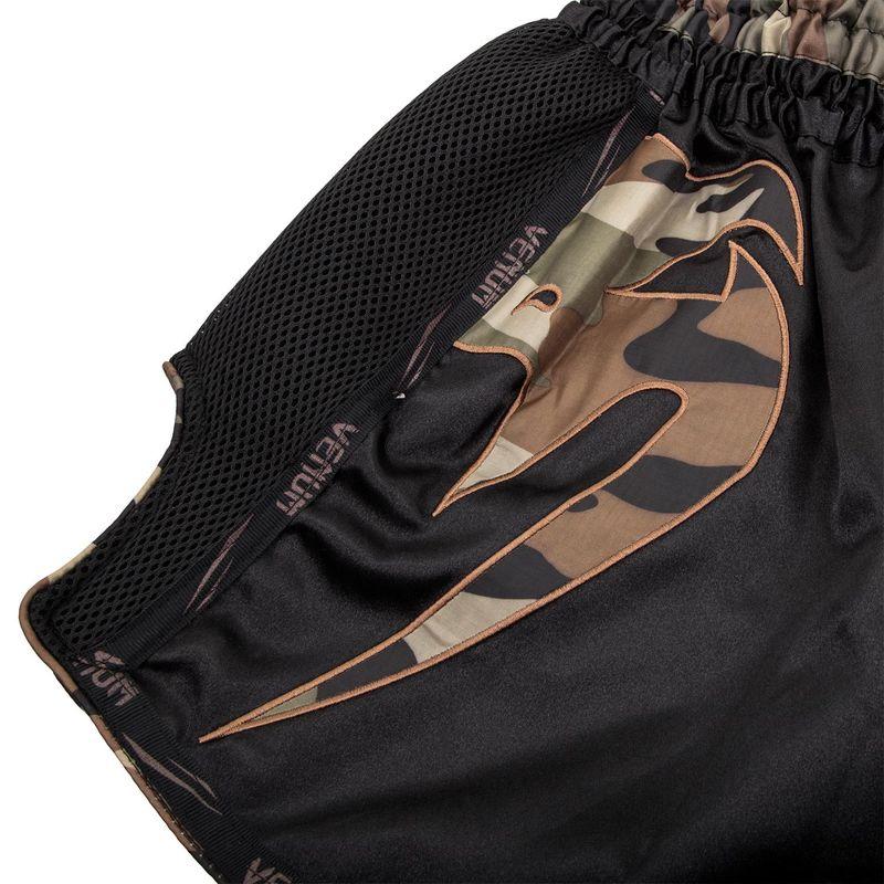 Venum Giant Muay Thai Shorts - black/camo green – Bild 3