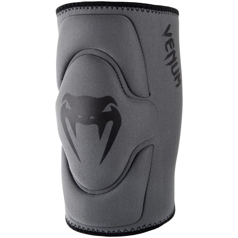 Venum Contact Gel Knee Pad Knee Pads Neoprene Gel for MMA / Muay Thai Boxing - Gray / Black – image 2