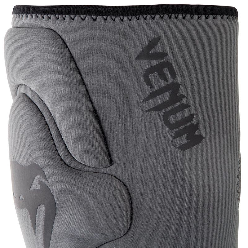 Venum Contact Gel Knee Pad Knee Pads Neoprene Gel for MMA / Muay Thai Boxing - Gray / Black – image 3