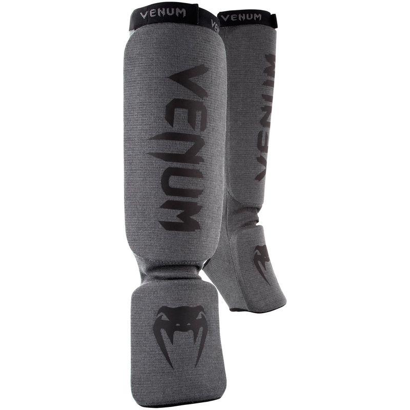 Venum KONTACT espinilleras / empeines MMA, Muay Thai & Kick Boxing - gris/negro – Bild 1