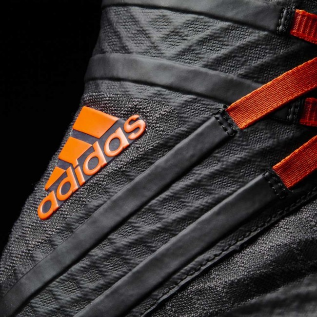 Adidas Speedex 16.1 Boost / Boxer shoes - gray / orange – image 9