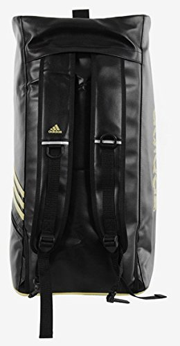 Adidas Training 2 in1 Bag - schwarz/gold – Bild 3