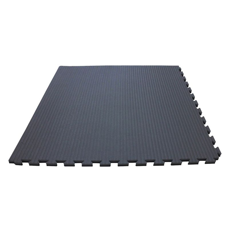 4Fighter 2cm martial arts mat DOUBLE TATAMI gray-black – image 2