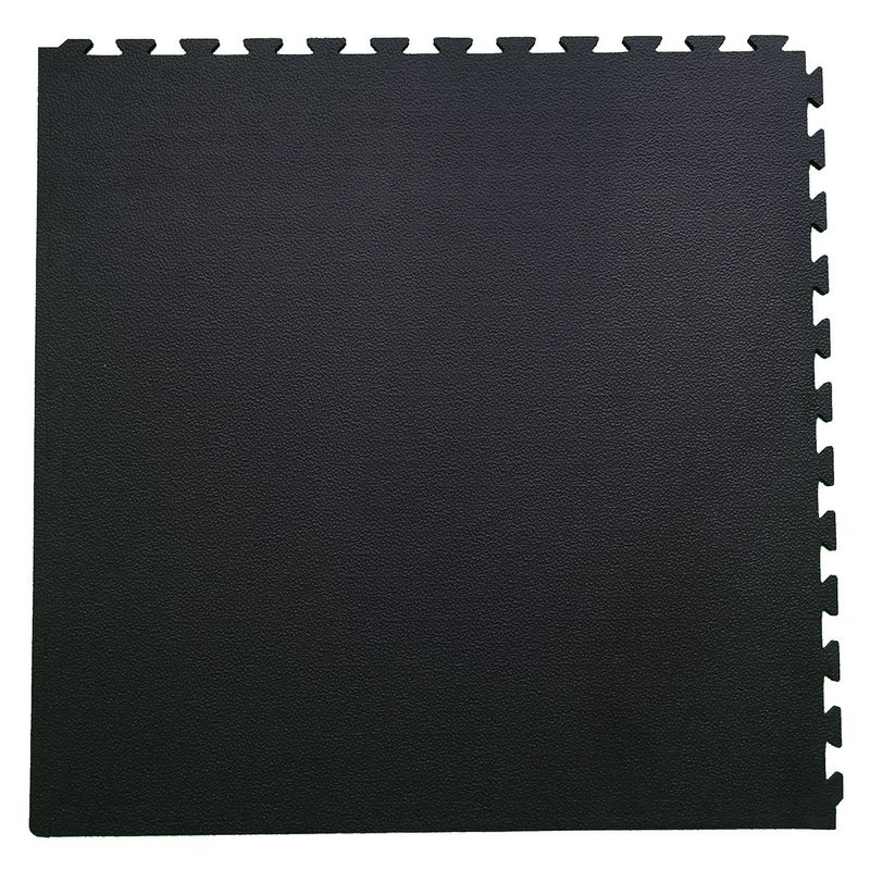 4Fighter Pebble Boxer Mat - saftey floor mat black 100 x 100 x 1 cm – image 2