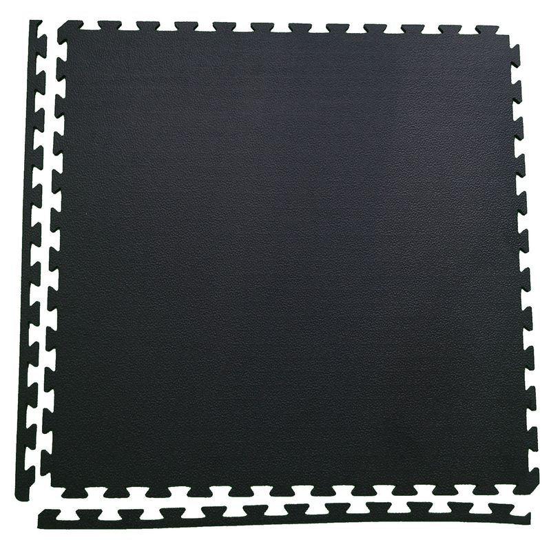 4Fighter Pebble Boxer Mat - saftey floor mat black 100 x 100 x 1 cm – image 3