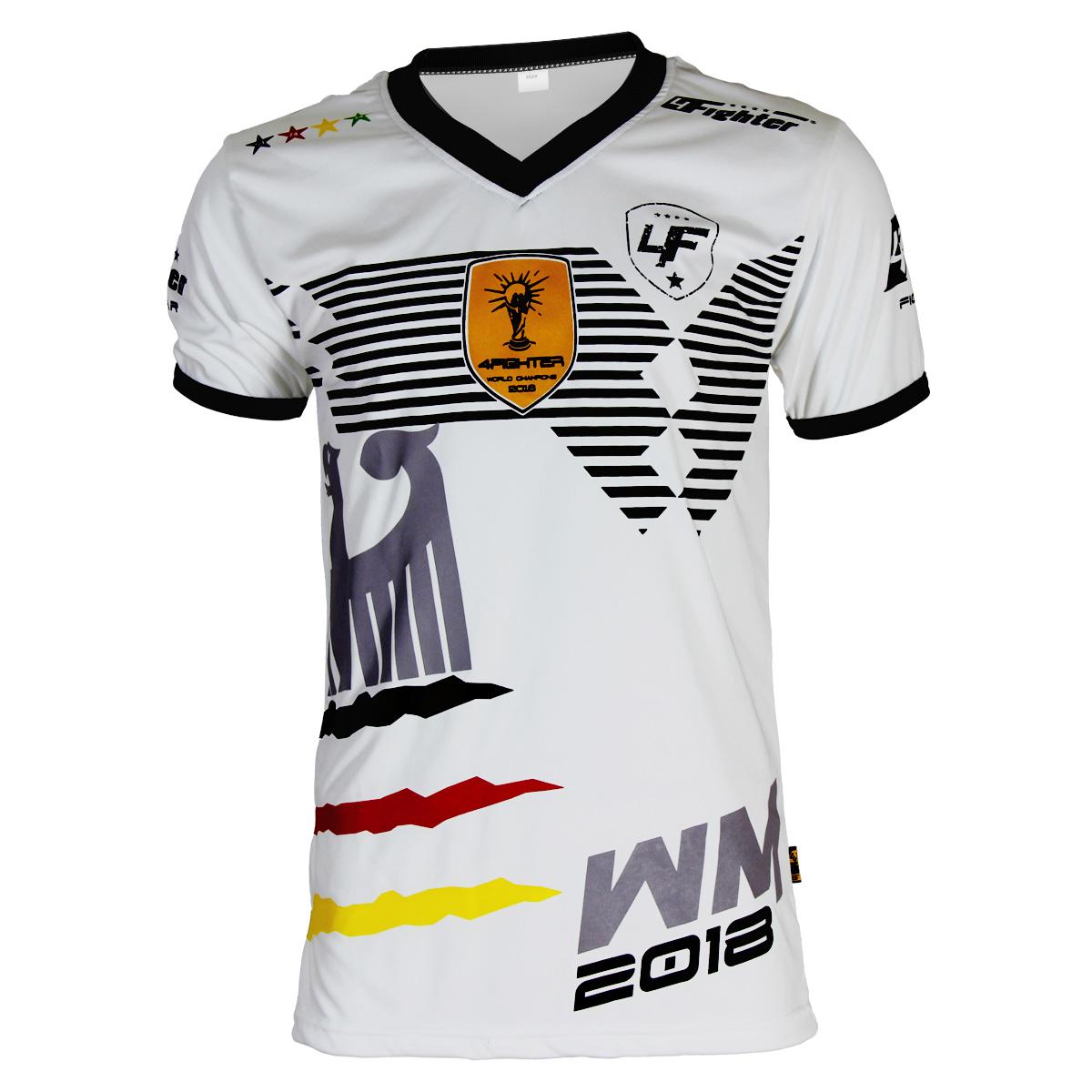 4Fighter Deutschland WM-Shirt 2018 weiß