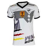 4Fighter Germany Trainings Shirt weiß atmungsaktiv 001