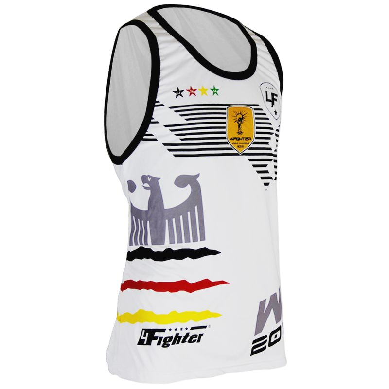 4Fighter Germany Men / Kids World Cup 2018-Tanktop / Muscleshirt white – image 1