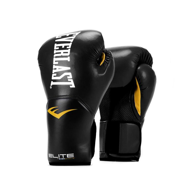 Everlast Elite Pro Style Training - Boxhandschuhe Kunstleder in schwarz/gelb