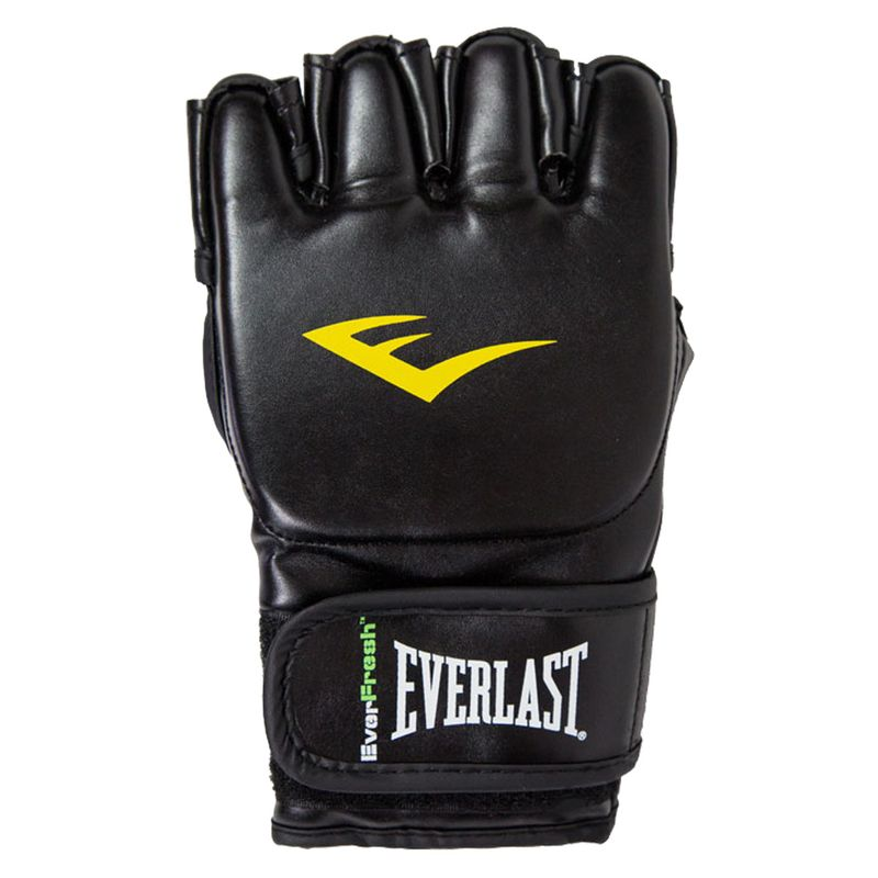 Everlast MMA Grappling Gloves Closed Thumb - Kunstleder in schwarz – Bild 3