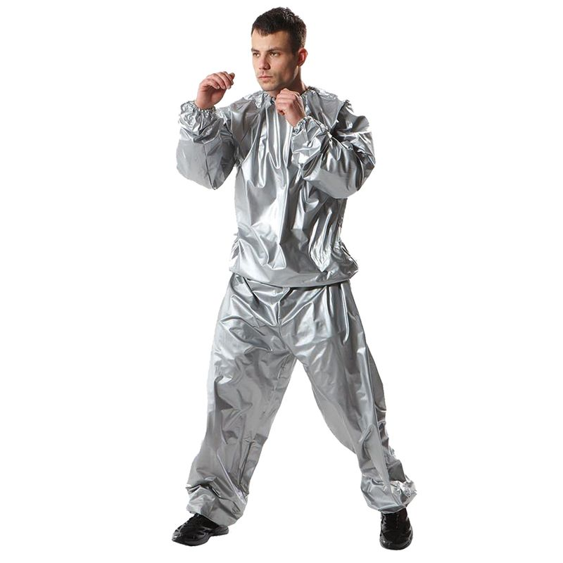 Everlast Classic Sauna Suit / Sweat Suit silver – image 1