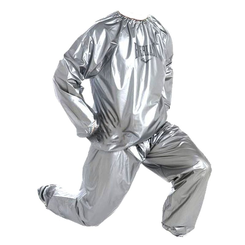 Everlast Classic Sauna Suit / Sweat Suit silver – image 3