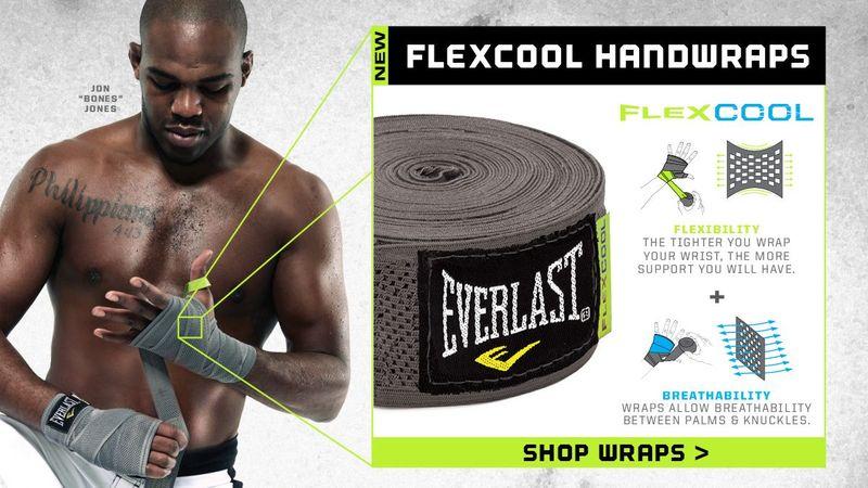 Everlast FlexCool Boxbandagen / Hand Bandagen 460cm superelastisch grau – Bild 3