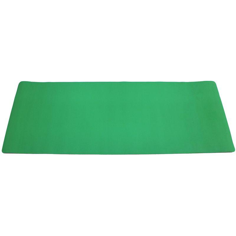 4Fighter Gymnastik Yogamatte, Pilatesmatte, Fitnessmatte mit Gummiband180 x 60 x 0,4cm grün – Bild 2