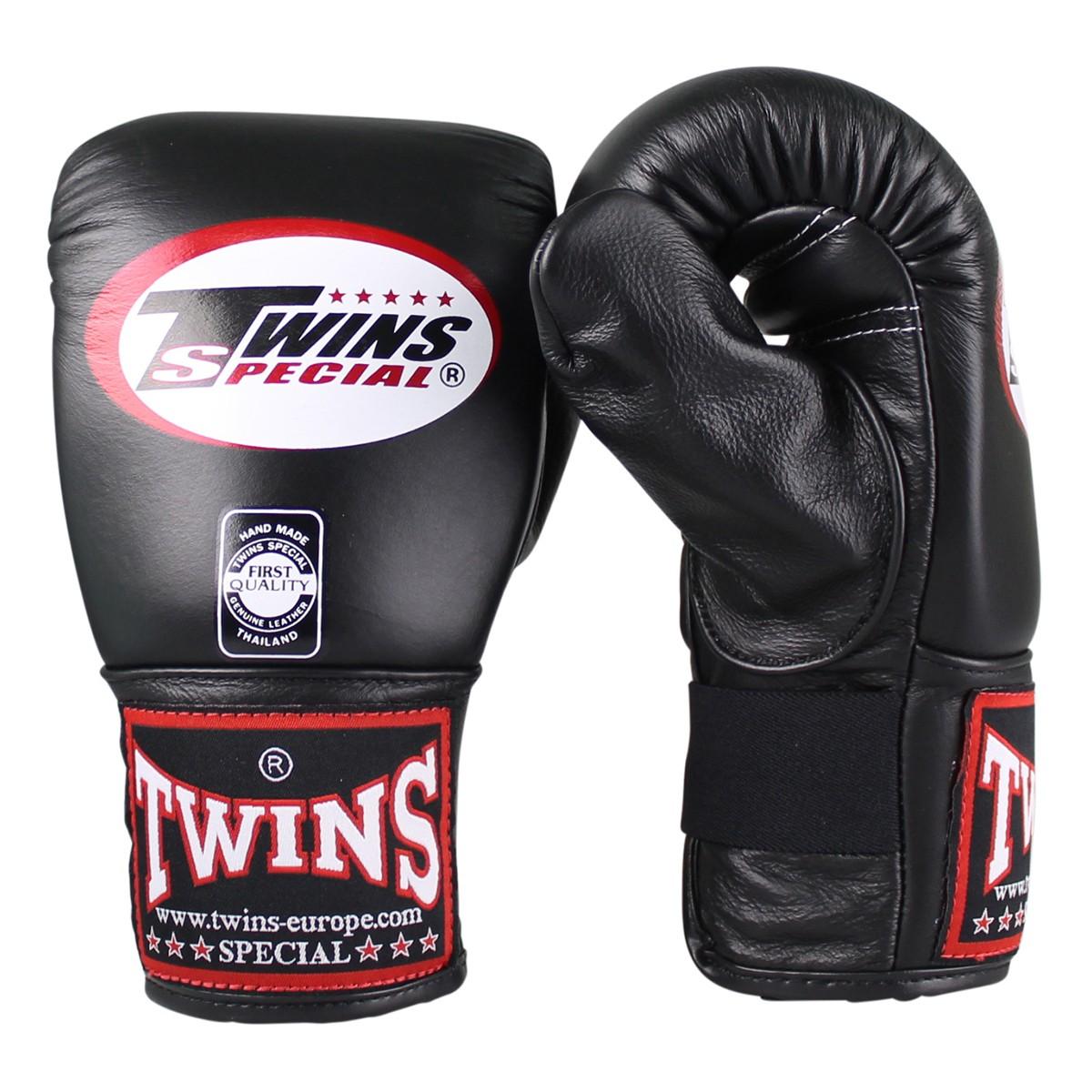 Twins Sandsackhandschuhe aus Leder schwarz M - XL