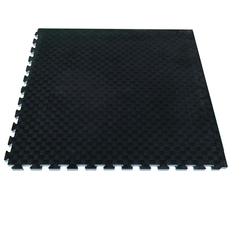 4Fighter 2cm martial arts mat DOUBLE CROSS gray-black – image 2