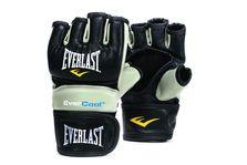 Everlast Everstrike MMA Grappling Gloves Pulgar cerrado - Cuero sintético en negro / gris