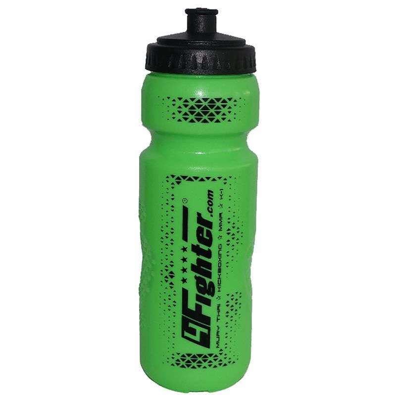 4Fighter Spray Boxing Bottle neon green 0.8 liter spray bottle bottle with straw – image 3