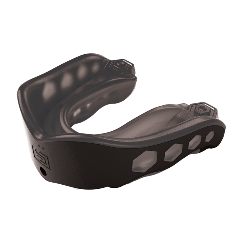 Shock Doctor Mouthguard Gel Max - black / transparent with box – image 1