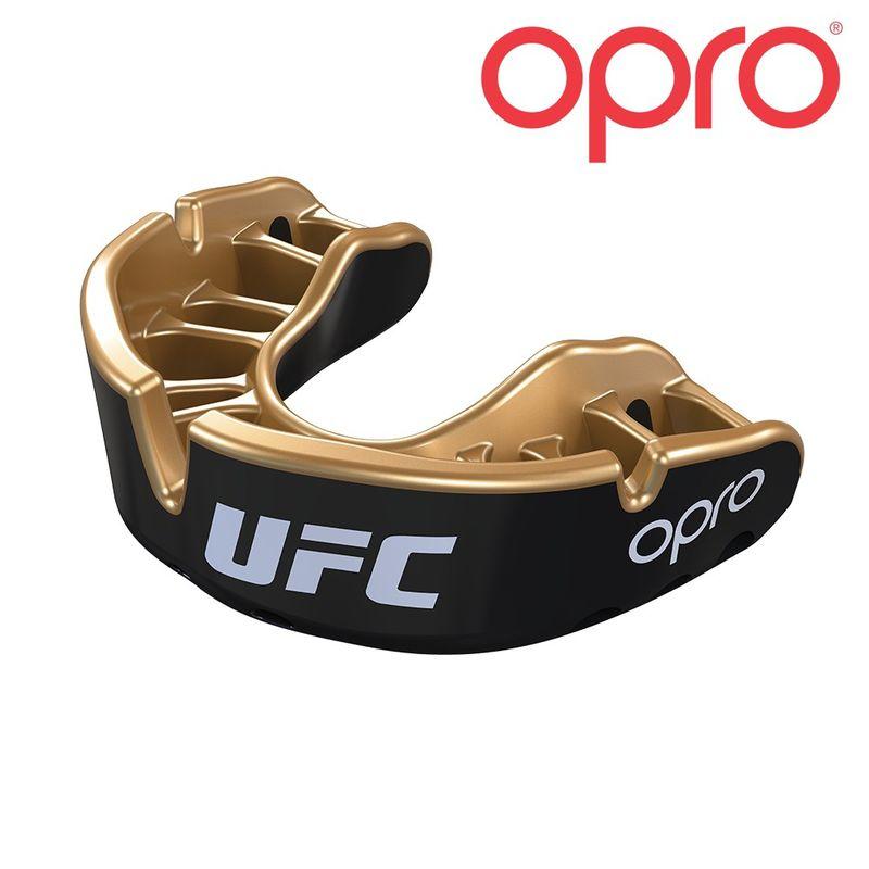 UFC OPRO GOLD - schwarz / Metall gold – Bild 1