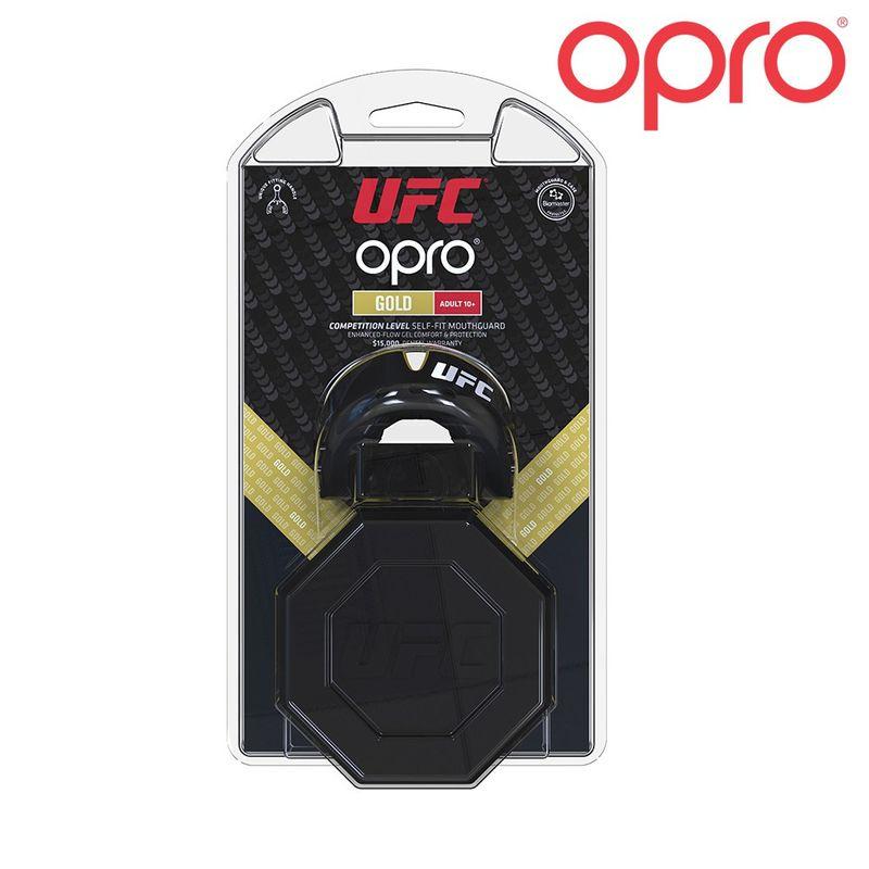 UFC OPRO GOLD - schwarz / Metall gold – Bild 3