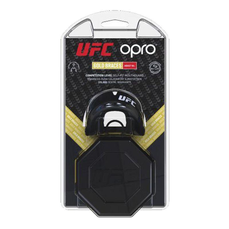 UFC OPRO GOLD Braces - schwarz / Metall silber – Bild 7