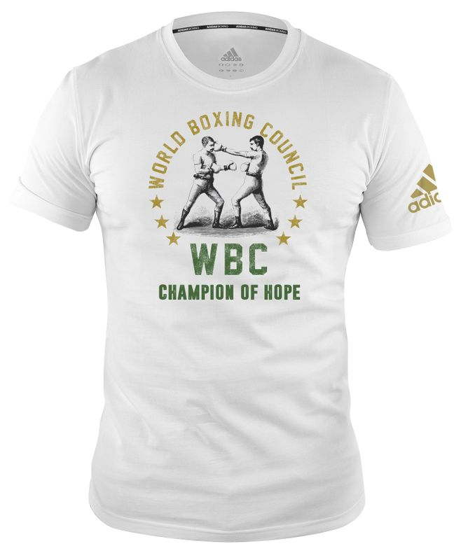 WBC T-Shirt Champ of Hope - white