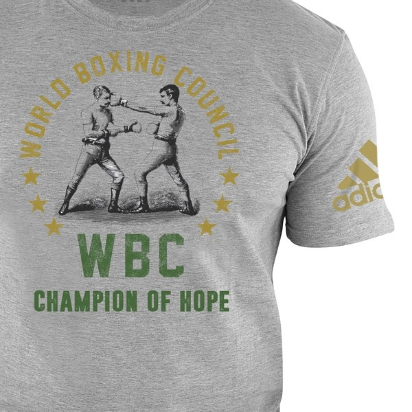 Camiseta del WBC Champ of Hope - gris – Bild 2