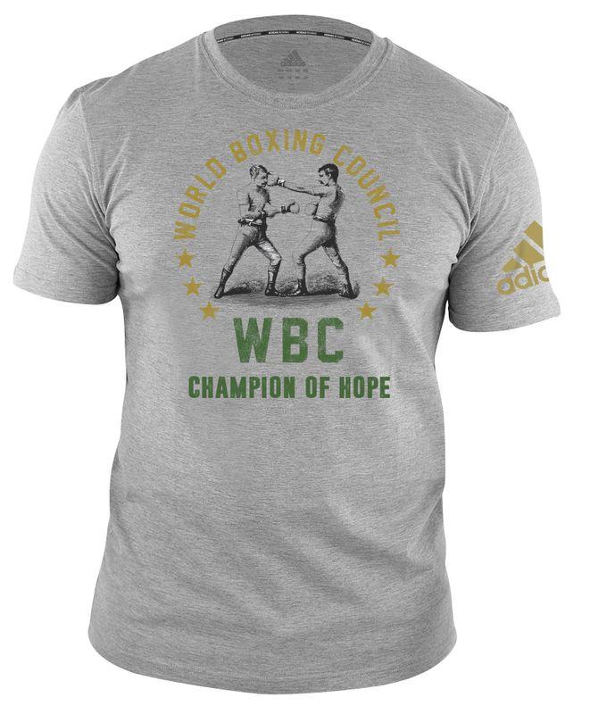 WBC T-Shirt Champ of Hope - grey