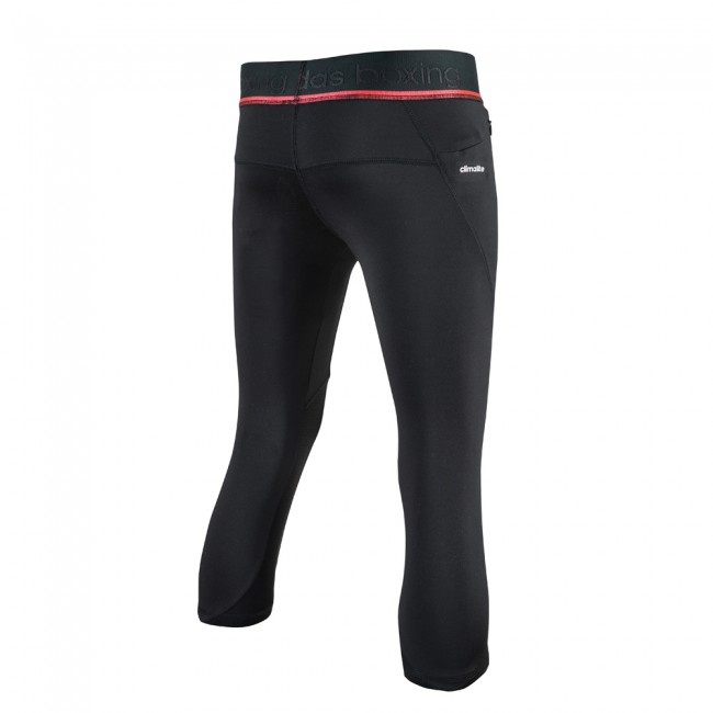 Adidas Pro 3/4 Tight - black / shock red – image 2