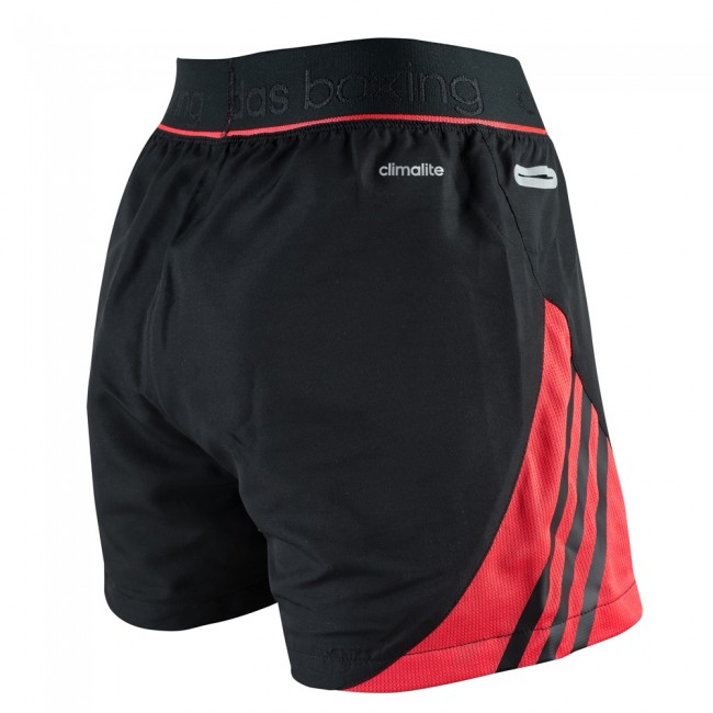 Adidas Pro Dual Short - black / shock red – image 3