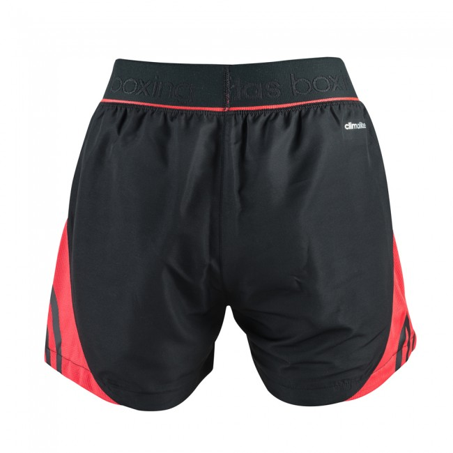 Adidas Pro Dual Short - black / shock red – image 2