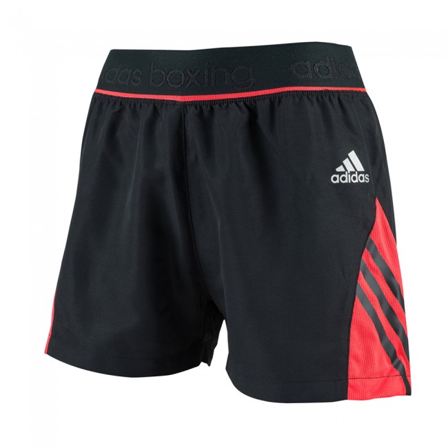 Adidas Pro Dual Short - black / shock red – image 1