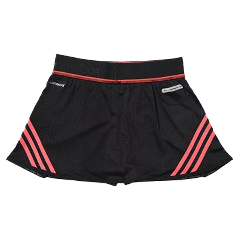 Adidas Train Skort - black / shock red – image 4
