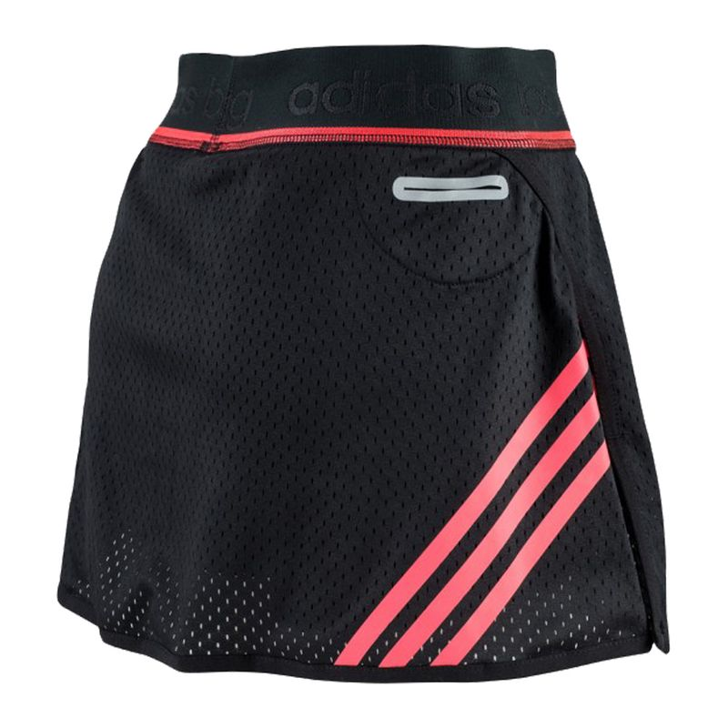 Adidas Train Skort - black / shock red – image 2