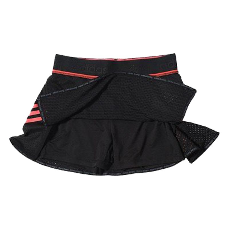 Adidas Train Skort - black / shock red – image 3