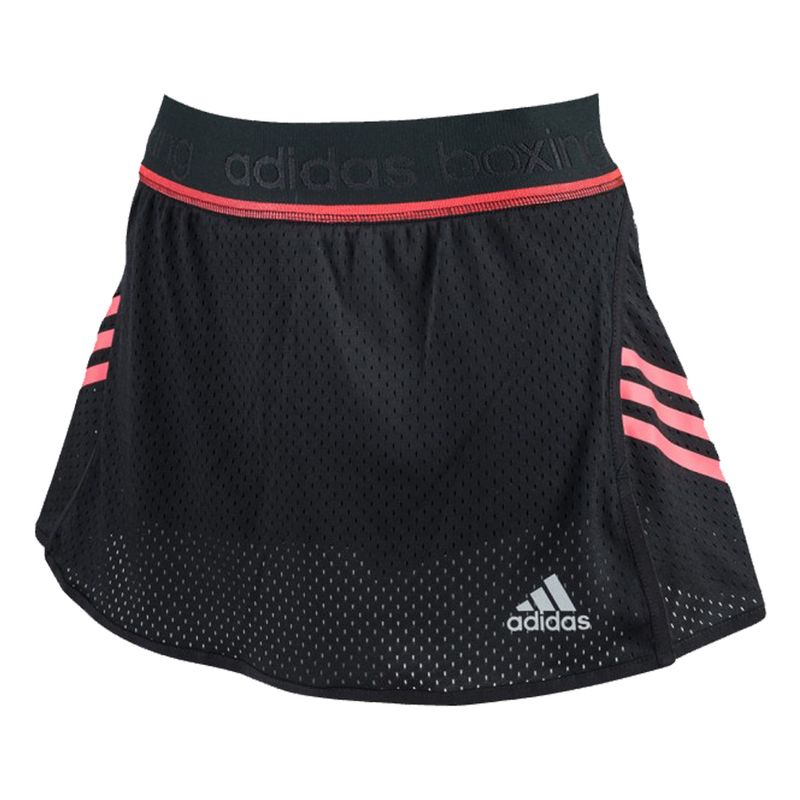 Adidas Train Skort - black / shock red – image 1