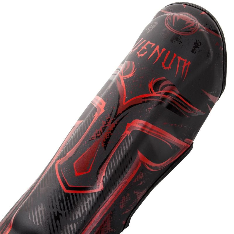 Venum Gladiator 3.0 Professional Shinguard - Black / Red – image 3