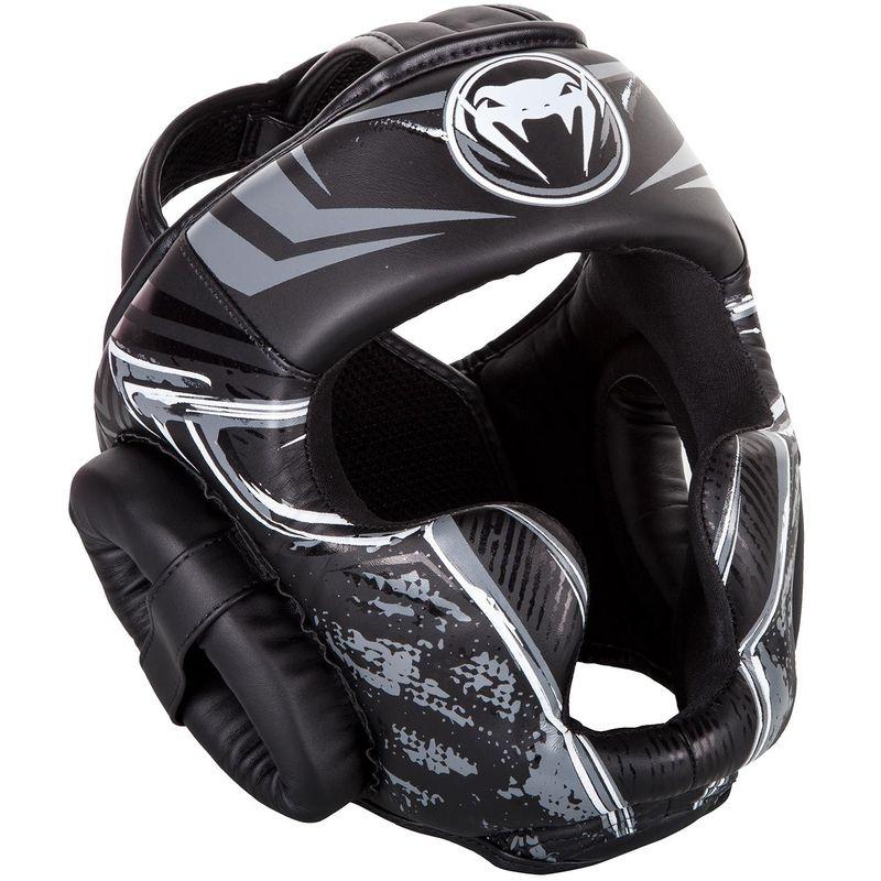 Venum Gladiator 3.0 Kopfschutz - BLACK/GREY – Bild 2