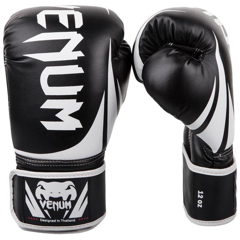 Venum Challenger 2.0 Boxing Gloves Schwarz / Weiß – Bild 1