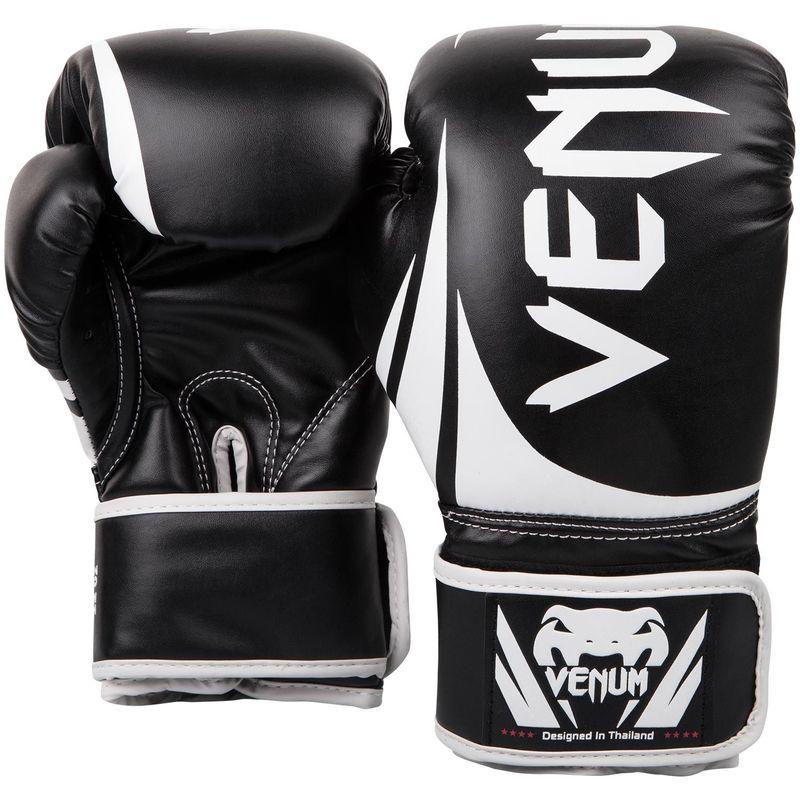 Venum Challenger 2.0 Boxing Gloves Schwarz / Weiß – Bild 2