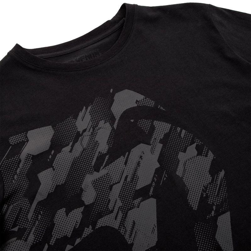 Venum Tecmo Giant T-Shirt schwarz/schwarz – Bild 5