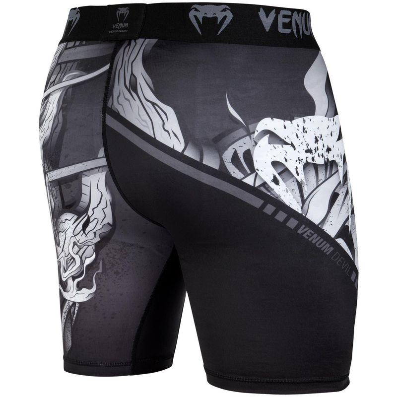 Venum Devil Vale Tudo Shorts Weiss/Schwarz – Bild 3