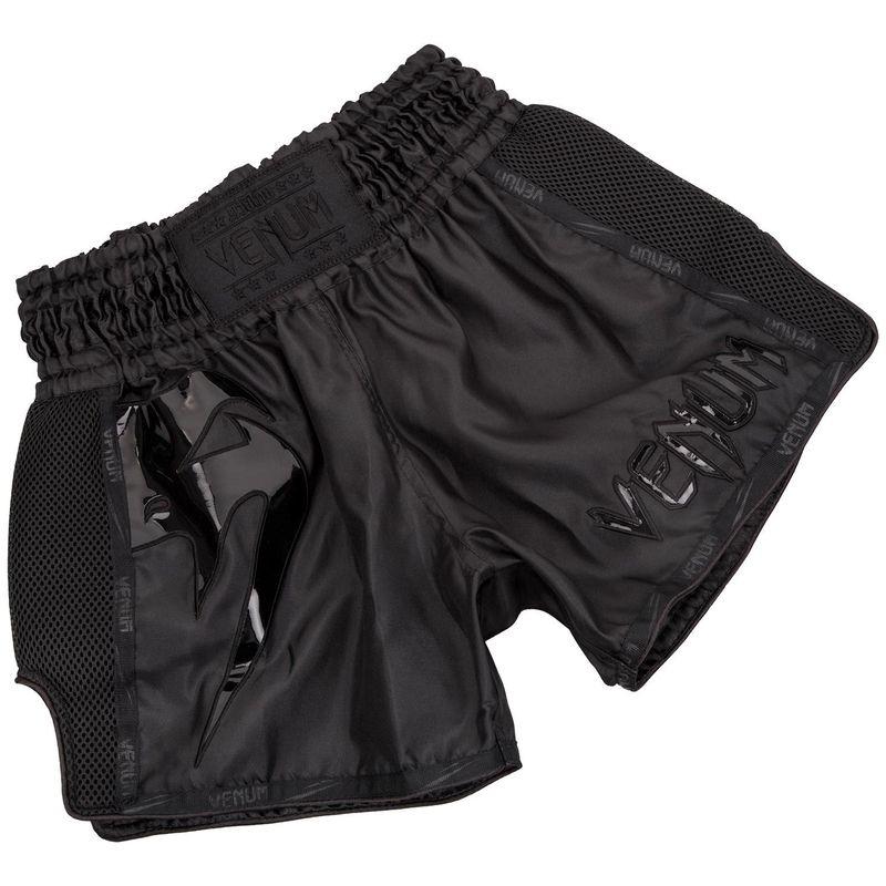 Venum Giant Muay Thai Shorts - Black/Black – Bild 1