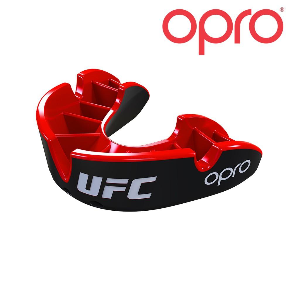UFC OPRO SILVER - rot / schwarz
