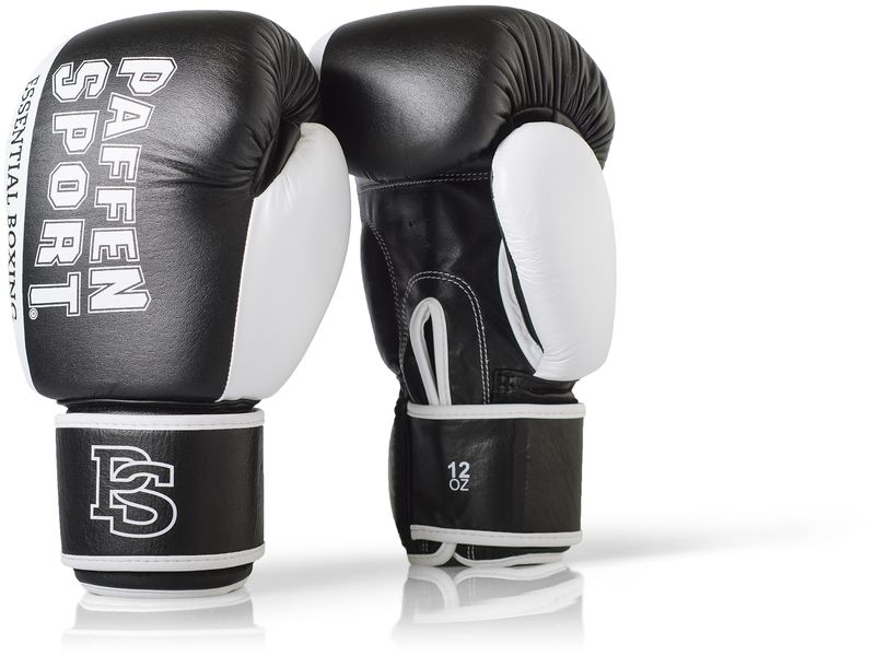 Essential boxing gloves black / white – image 1