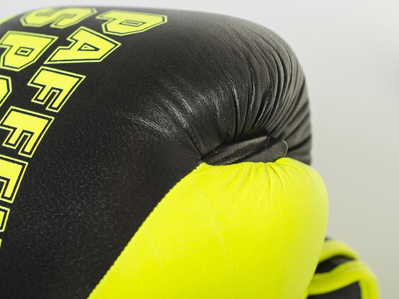 Essential boxing gloves black / neonyellow – image 6